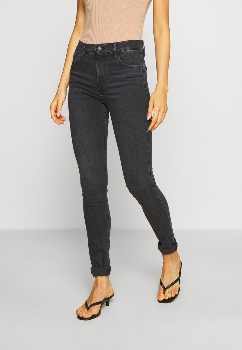 Levi's® - 720 HIRISE SUPER SKINNY - Jeansy Skinny Fit - smoked out