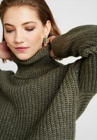 Even&Odd - Sweter - khaki - 5
