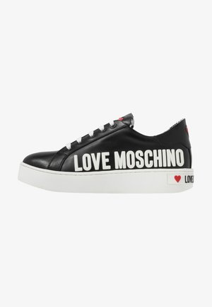 GRAPHIC - Sneakers laag - black