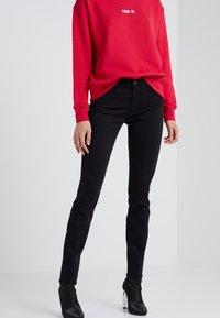 AG Jeans - PRIMA - Trousers - super black - 0