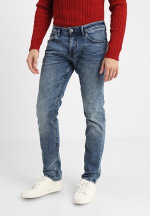 PIERS - Jean slim - light stone wash denim blue