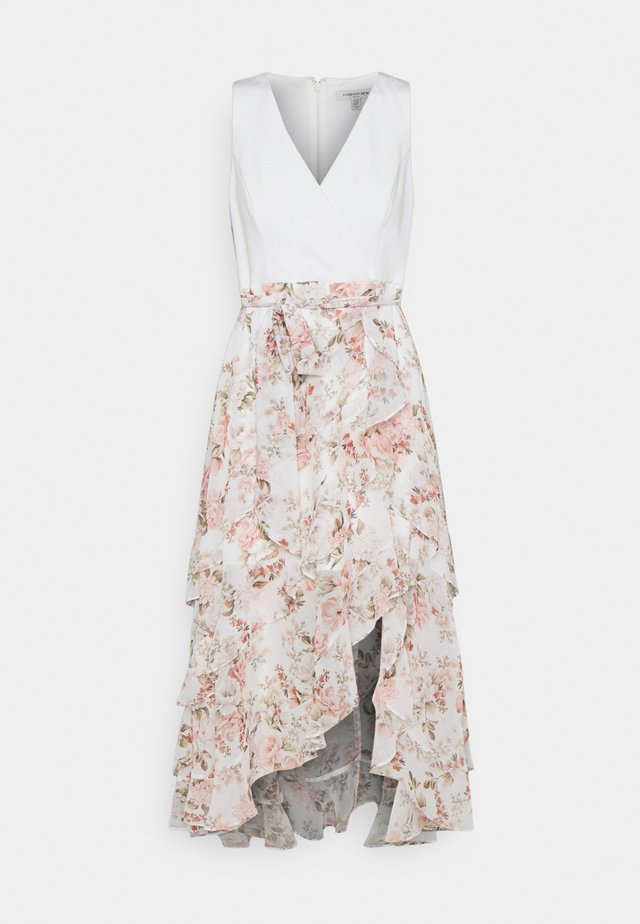 JOANNA FRILL MAXI DRESS - Korte jurk - vintage coral