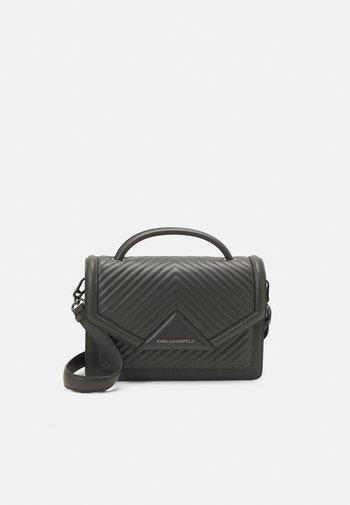KLASSIK QUILTED SHOULDER BAG - Handbag - thunder