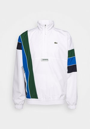 ZIP JACKET RAINBOW - Sportovní bunda - white/navy blue/utramarine/green