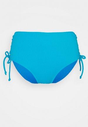 ANTONIA REVERSIBLE HIGHWAIST PANT - Bikini bottoms - powder blue/sea blue