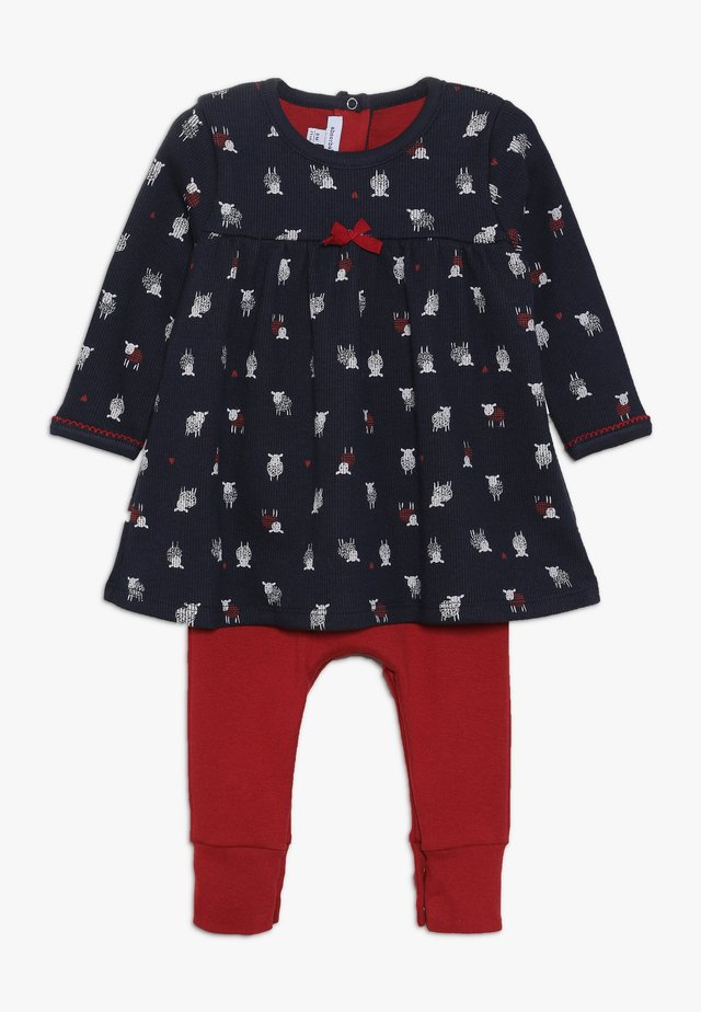 BABY ALL IN ONE DOUCEUR  - Jumpsuit - red