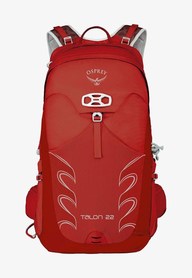 Hiking rucksack - martian red