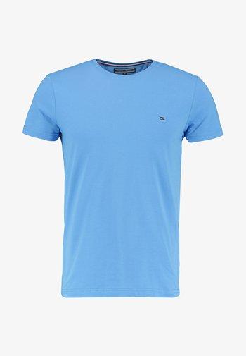 STRETCH SLIM FIT TEE - T-shirt basic - regatta