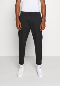 Hollister Co. - TAPER CROP - Chinos - black - 0