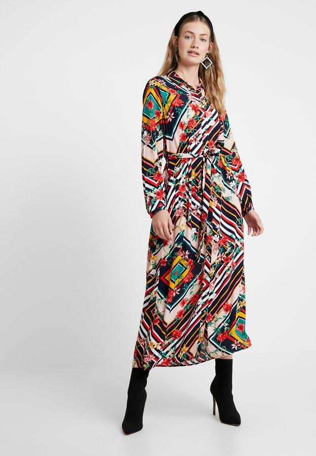 LONG PRINTED DRESS - Vestito lungo - multicoloured