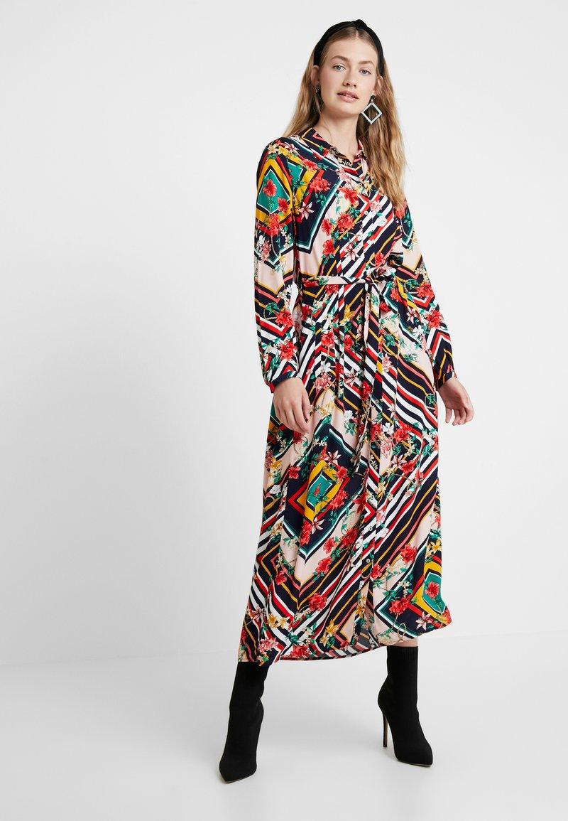 Cortefiel - LONG PRINTED DRESS - Maxi dress - multicoloured