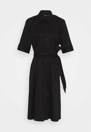 FINNBARR CASUAL DRESS - Skjortekjole - black