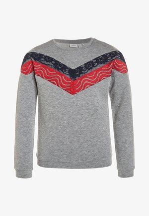 NKFBIA - Sweatshirt - grey melange