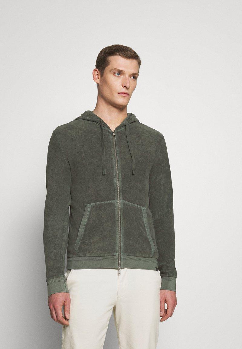 Marc O'Polo - Zip-up hoodie - mangrove