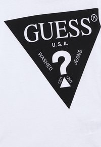 Guess - JUNIOR - T-shirt imprimé - jet black - 2