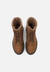 Even&Odd Wide Fit - Winter boots - dark brown - 5