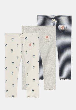 BABY FLORAL 3 PACK - Leggings - Trousers - cream
