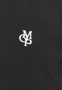 Marc O'Polo - SHORT SLEEVE CONTRAST TIPPING - Polo shirt - black - 6