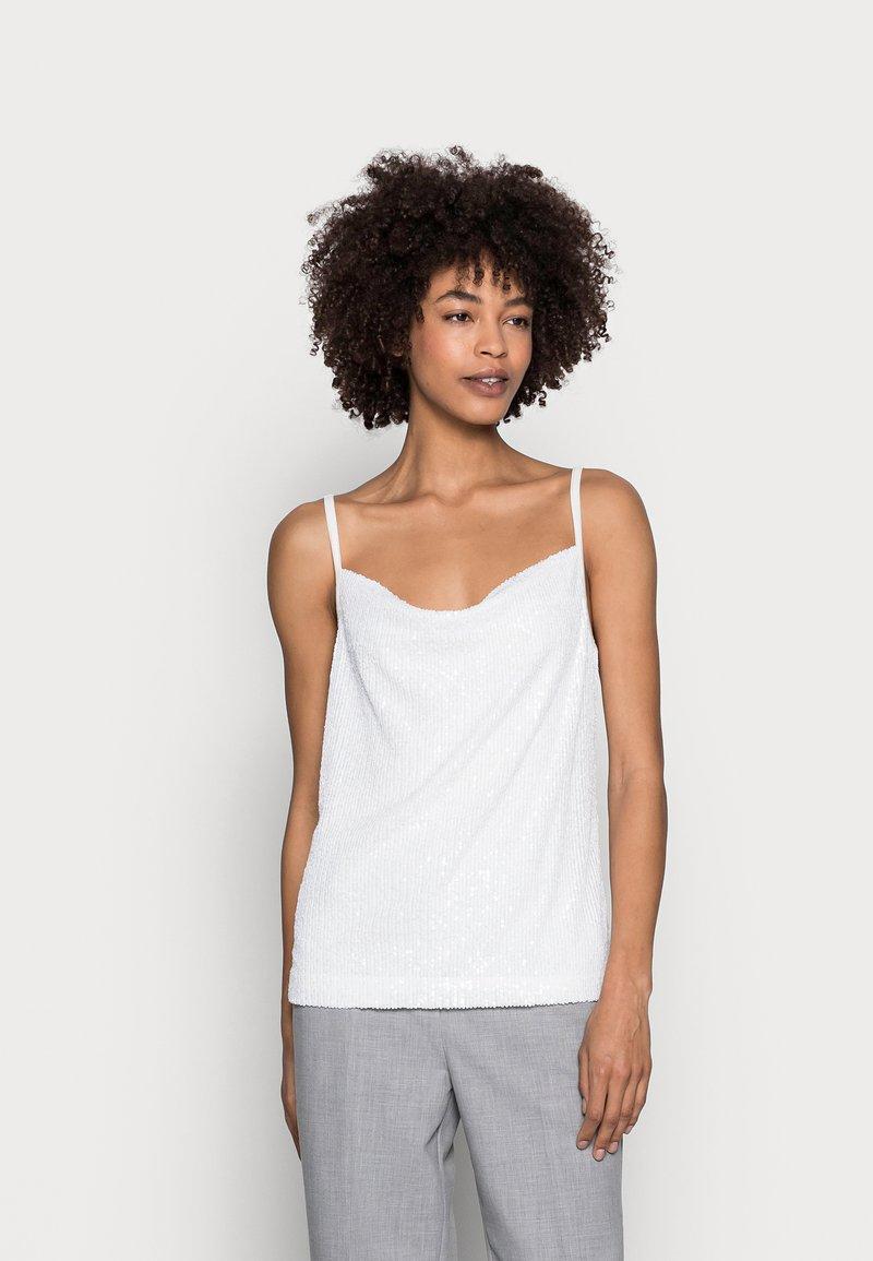 Esprit Collection - PAILETTEN TOP - Top - off white