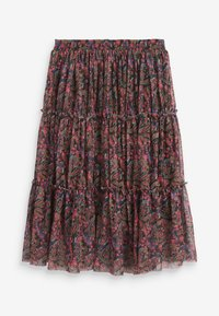 Next - A-line skirt - multi-coloured - 1