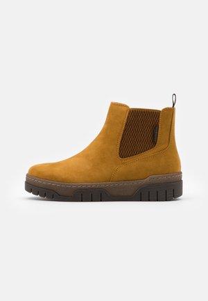 Ankelboots - mustard yellow