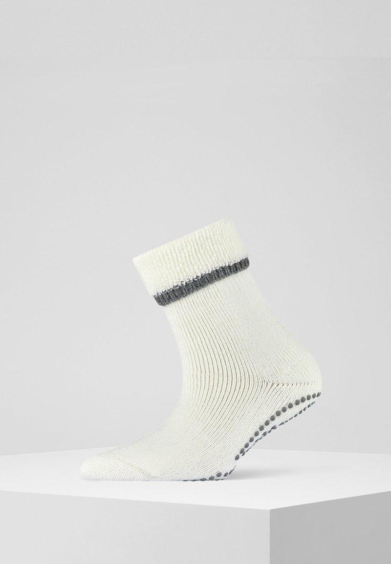 FALKE - CUDDLE PADS  - Socks - off-white (2049)