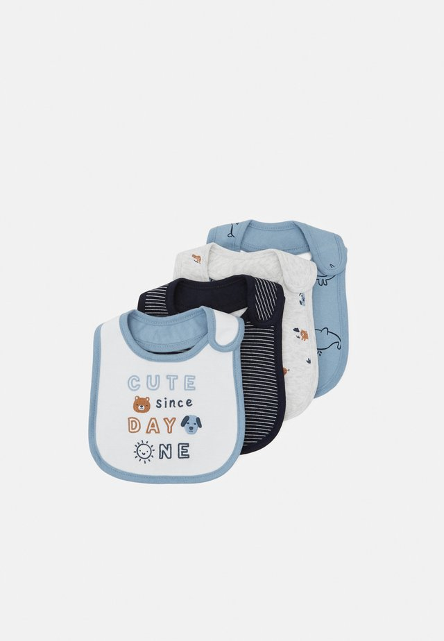 4 PACK - Bib - blue