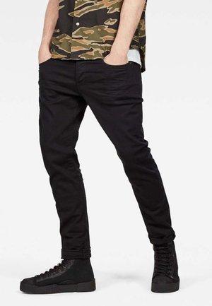 3301 SLIM - Jean slim - black denim