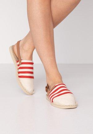 ORIGINE MULE STRAP - Sandals - red/raw