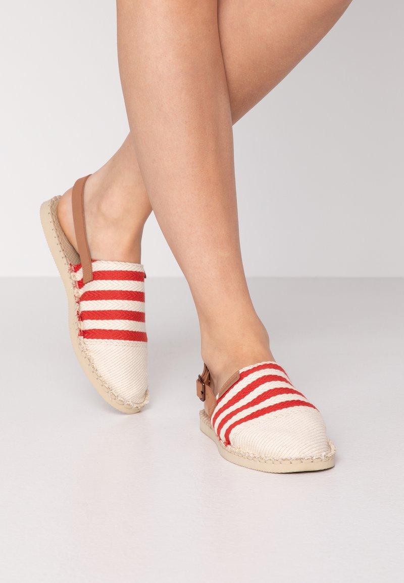 Havaianas - ORIGINE MULE STRAP - Sandals - red/raw