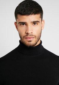 Burton Menswear London - CORE ROLL - Jumper - black - 3