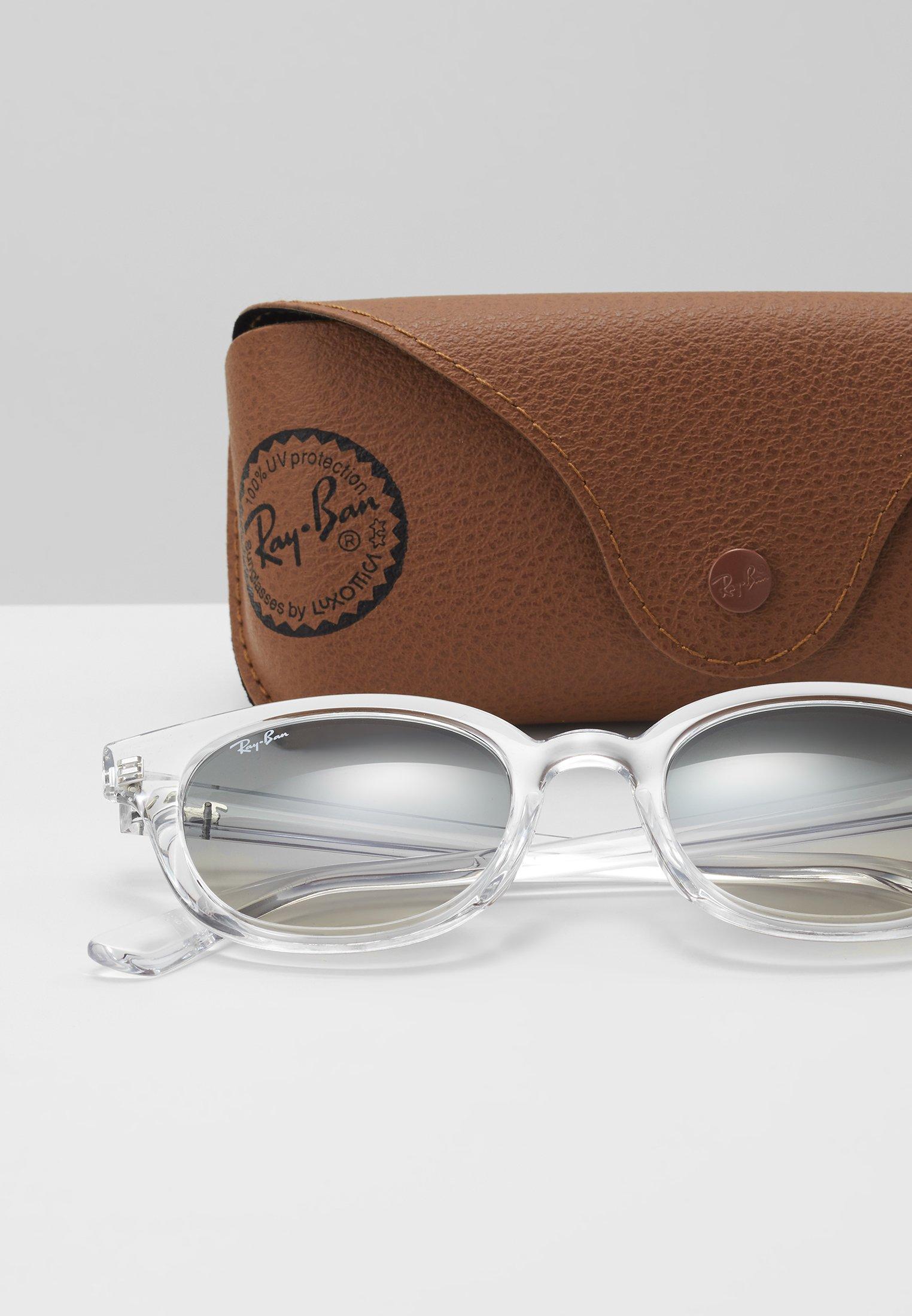 Los más valorados Ray-Ban Gafas de sol - transparent/grey | Complementos de hombre 2020 Koukn