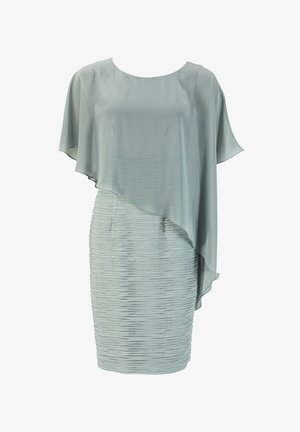 Cocktail dress / Party dress - light green / silver