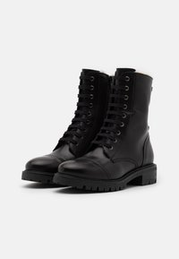 Anna Field - LEATHER - Lace-up ankle boots - black - 2