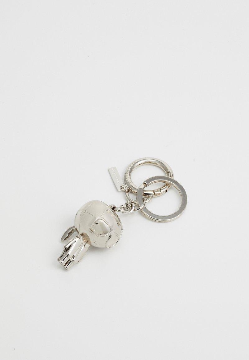 KARL LAGERFELD - IKONIK KARL KEYCHAIN - Schlüsselanhänger - silver-coloured