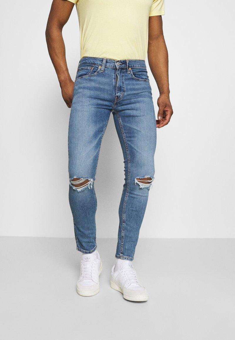 Levi's® - 519™ EXT SKINNY HI BALLB - Jeans Skinny Fit - blue denim