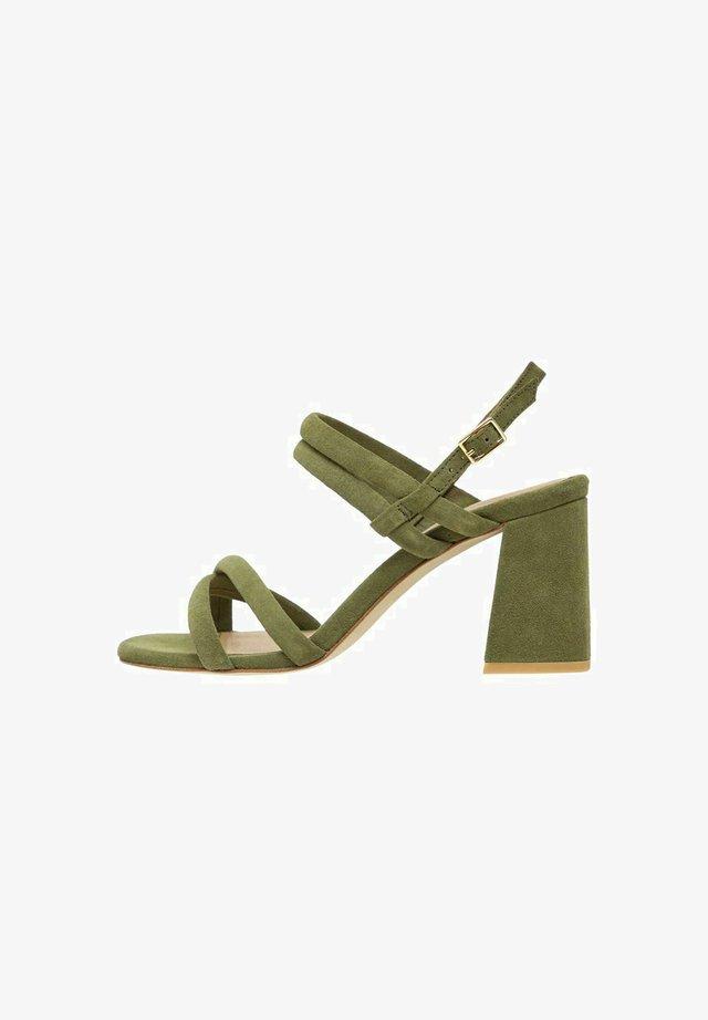 BIACHARLENE - Sandalen met hoge hak - palegreen