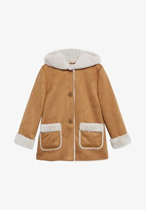 JULIANA - Winter coat - tobacco brown