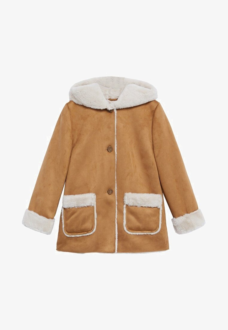 Mango - JULIANA - Winter coat - tobacco brown