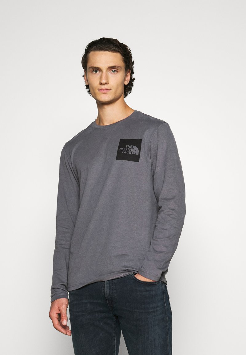 The North Face - FINE TEE  - Top s dlouhým rukávem - vanadis grey
