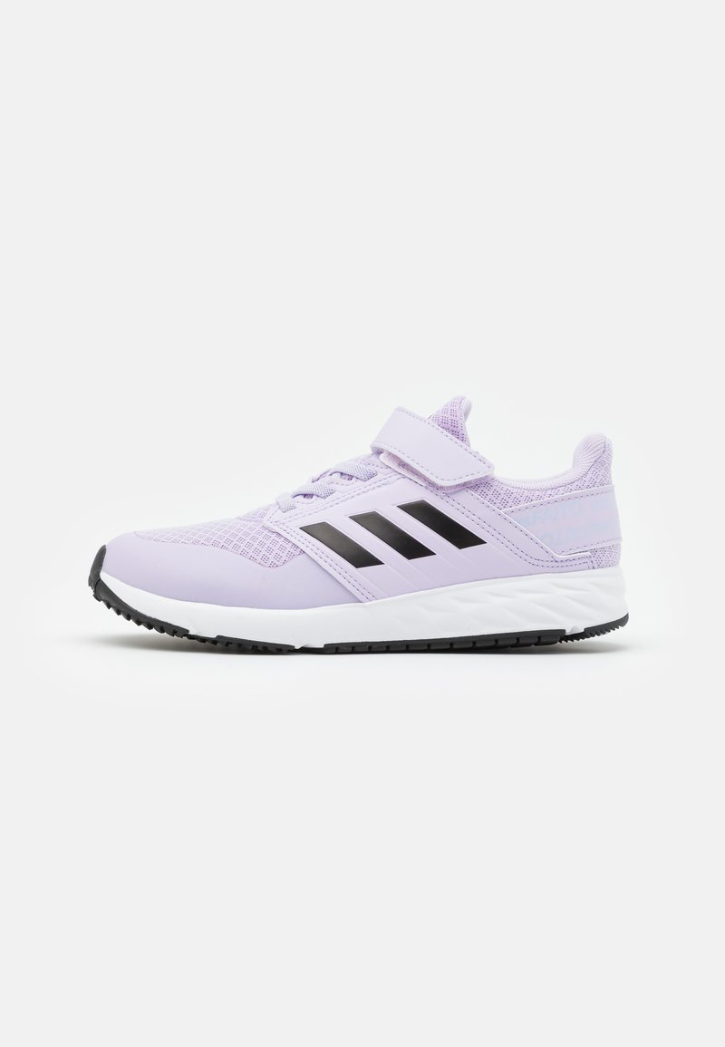 adidas Performance - FORTAFAITO KIDS NEXT SPORTS RUNNING SHOES UNISEX - Neutral running shoes - purple tint/core black/footwear white