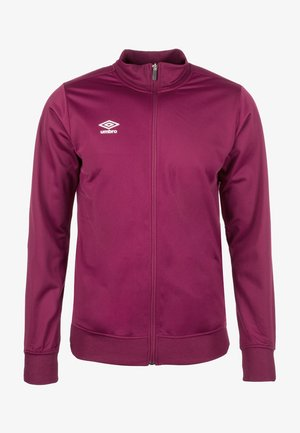 POLY - Training jacket - bordeaux