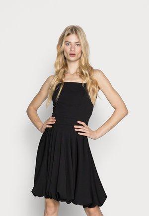 JASMINE STRAP SKATER DRESS - Cocktail dress / Party dress - black