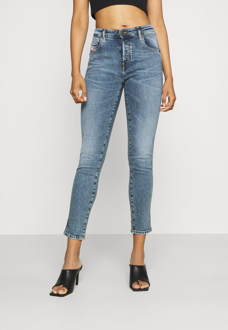 Diesel - BABHILA - Jeans Skinny Fit - denim blue