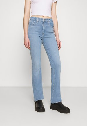 725 HIGH RISE BOOTCUT - Jean bootcut - light-blue denim