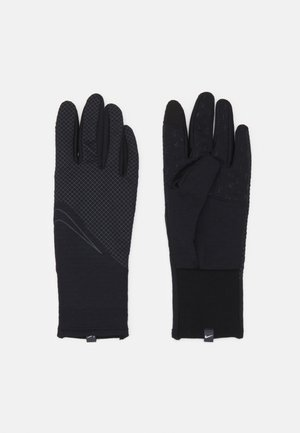 WOMENS SPHERE RUNNING GLOVES - Guanti - black/silver