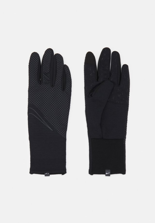 WOMENS SPHERE RUNNING GLOVES - Fingerhandschuh - black/silver