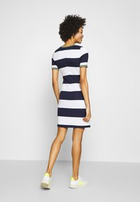 edc by Esprit - STRIPE DRESS - Day dress - navy - 2