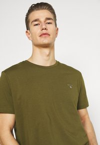 GANT - ORIGINAL - T-shirt basic - dark cactus - 3