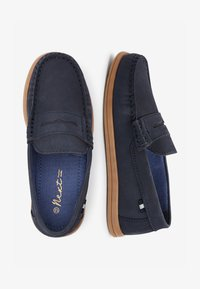 Next - NAVY NUBUCK PENNY LOAFERS (OLDER) - Nazouvací boty - blue - 1